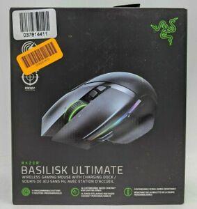 Razer Basilisk Ultimate Wireless Optical Gaming Mouse - Black w/ RGB -NR4701