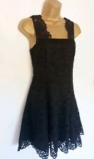 & OTHER STORIES BLACK LACE SKATER DRESS SZ 8( US 6) NWT!