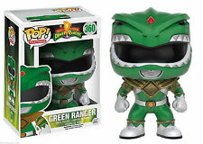 "MIGHTY MORPHIN POWER RANGERS - VERDE RANGER 3.75"" POP VINILE STATUETTA"