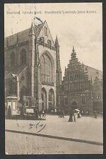 Haarlem  Groote Kerk  Standbeeld Laurends Jansz Koster
