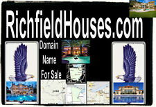 Richfield Houses .com Website Domain Name For Sale  Real Estate Sale Ohio URL