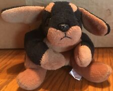 Doby, the Doberman Ty Beanie Baby 1996 No Hang Tag-Free Standard Shipping
