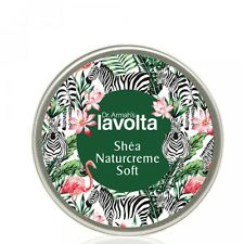 (17,77€/100ml) LaVolta Shéa Naturcreme Soft 225ml - Sonderedition FLAMINGO