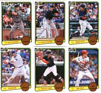 2017 Donruss Baseball - 1983 Retro Variation Set Cards - Pick From Card #'s 1-50
