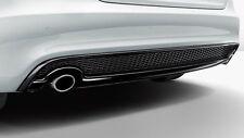 Original Audi A4 8W B9 Tubos de Escape Cubiertas Cromo - 8W0071762