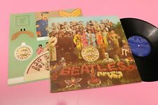 BEATLES LP SERGEANT PEPPER'S .. ORIG SPAGNA 1969 GATEF LAMINATED COVER INSERTO