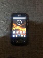 LG P500 - Black (orange ) Mobile Phone