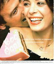 PUBLICITE ADVERTISING 036  1978  De Beers  joaillier diamant
