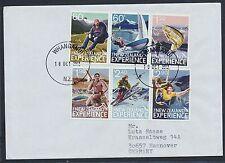 Neuseeland 2863/68 auf Brief nach Deutschland / Trendsport .....................