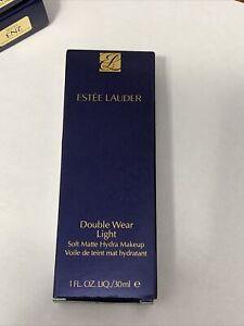 New ESTEE LAUDER Double Wear Light Soft Matte Hydra Makeup 2N3 DUNE 1.0oz - 30ml