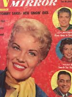 Vintage Collectible Movie Magazine Radio Mirror Jun 1957 Patti Page Cover