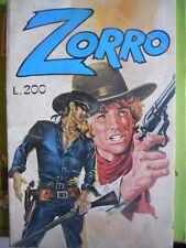 ZORRO - La Frusta di Zorro n°4 1975 ed. Cerretti   [G253]