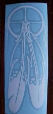 Feather Dream Native Nature Catcher Vinyl Vehicle Window Sticker/Decal