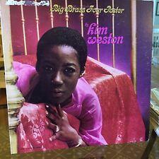 OG M- Kim Weston Big Brass Four Poster LP Vinyl Record Jazz Candi Staton