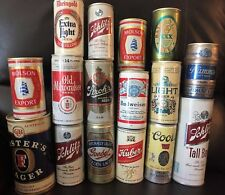 Vintage Beer Cans Hamms Rheingold Ballantine Xxx Huber Goebel Coors Lot 16 Empty