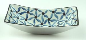 AZETI DECORATIVE FRUIT BOWL -  HAND MADE ALUMINIUM & HANDPAINTED ENAMEL