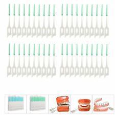 40Pcs Soft Clean Between Interdental Floss Brushes Dental Oral Teeth Care Tool