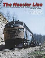The HOOSIER Line: MONON Railroad Historical Society, 1st Qtr 2017, NEW issue