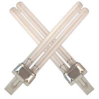 UV BULBS PLS TUBE LAMP 5w 9w 11w 13w TMC HOZELOCK FISH MATE TROPIC MARIN POND
