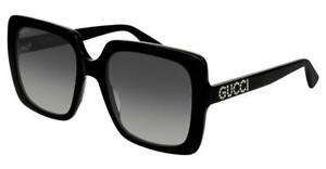 Gucci Black 54 mm Women's Sunglasses GG0418S-001 54
