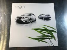 2010 SAAB 9-3 SPORT SEDAN CONVERTIBLE COMBI WAGON 9-3X DEALER SALES BROCHURE