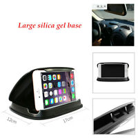 Large silica gel base Sun Protection Car GPS Phone Mount Holder Support Stand