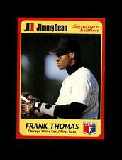 1991 Jimmy Dean Baseball #9 Frank Thomas (White Sox) MINT