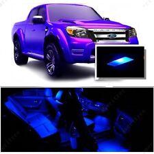 For Ford Ranger 1998+ Blue LED Interior Kit + Blue License Light LED