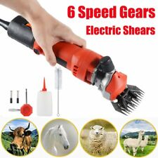 350w Electric Sheep Goat Clippers Shear Animal Shaver Grooming Tool 6 Speed
