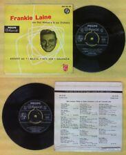 LP 45 7'' FRANKIE LAINE PAUL WESTON Answer me I believe Hey joe no cd mc dvd