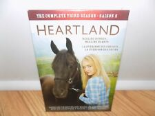 Heartland: Complete Season 3 (DVD, 2011, 5-Disc Set, Canadian) BRAND NEW
