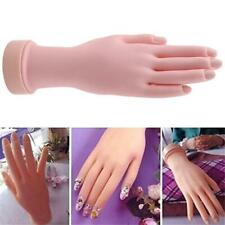 Training Hand Model Display Flexible Fake Manicure Nail Art Practice H