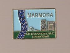 Marmora Ontario Metal Pinback Pin - Good