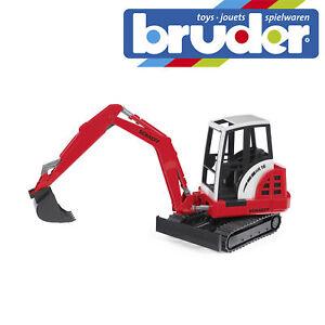 Bruder Schaeff HR16 Mini Excavator Construction Digger Toy Kids Model Scale 1:16