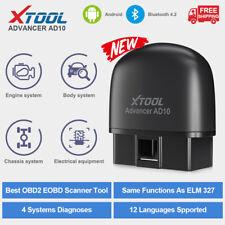 XTOOL AD10 Auto OBD2 Bluetooth Code Reader Diagnostic Scanner Tool Same ELM327
