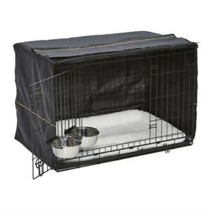iCrate Dog Crate Starter Kit 36-Inch Dog Crate Kit Medium/Large Dogs 1536DD New