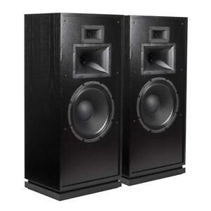 Klipsch Forte III Loudspeakers -Black Ash (Pair)  **Open Box**