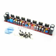 High-power 7x TDA7293 IC in Parallel 555W Mono Power Amplifier Board Assembled