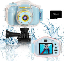 Kids Waterproof Camera Toys for 3-12 Year Old Boys Girls Christmas Birthday...