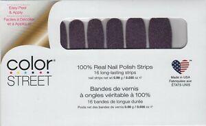 CS Nail Color Strips Night Terror 100% Nail Polish - Made in the USA!