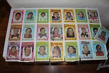 Lot of (22) Vintage 1971 Topps Football Pin-ups inserts!  Unitas Butkus Simpson