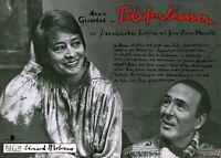 """DDR Progress Filmplakat A3 Telefonliaison (Annie Girardot) 1981 """"ungeknickt"""""""