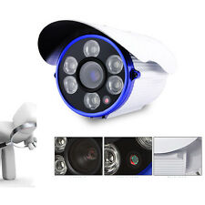 HD 1300TVL outdoor Waterproof CCTV Home security camera CMOS 6LED 16MM DAY NIGHT