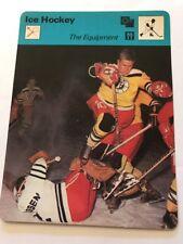 Sportcaster rencontre Sports-carte de hockey sur glace-L' équipement!