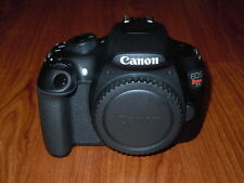 NEW Canon EOS Rebel T5 1200D BLACK Camera  - 18.0MP - Body ONLY - Nothing Else
