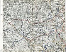 Warmensteinach Gefrees Berneck 1929 orig Teilkarte Himmelkron Stammbach Sparneck