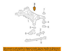 Lexus TOYOTA OEM 08-14 IS F Rear Suspension-Susp Crossmember Cushion 5227153041