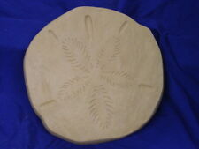 Huge Sand Dollar Stepping Stone Cement Plaster Concrete Mold 1255 Moldcreations