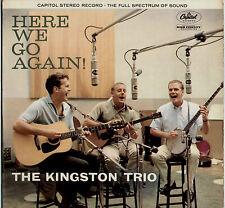 KINGSTON TRIO ~ HERE WE GO AGAIN! ~ 1959 UK 12-TRACK STEREO LP ~ CAPITOL ST 1258