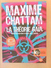 AUDIO LIVRE / LA THEORIE GAIA / MAXIME CHATTAM / TRES BON ETAT